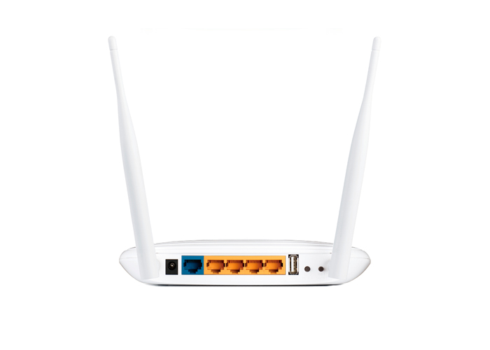 Roteador Wireless TP-Link N Multi-Funcional TL-WR842ND - 2.4GHz, 300Mbps, USB, 2 Antenas, 4 Portas Ethernet *