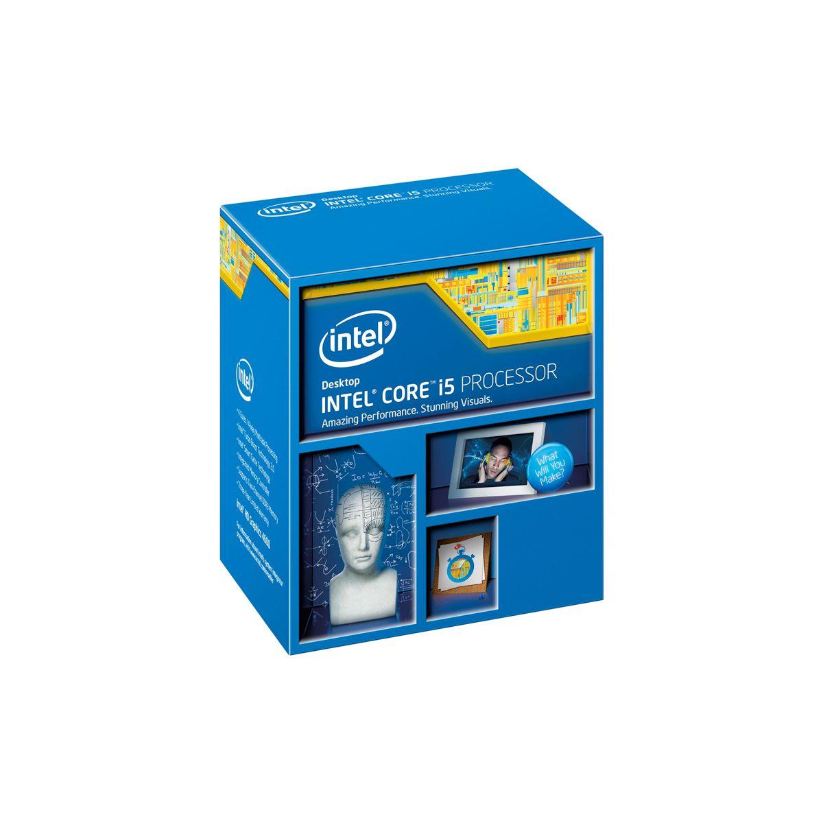 Processador Intel Core i5 4ª Geração 4590 - Velocidade 3,3 Ghz, Turbo Max, Cache 6MB, PCI Express 3.0