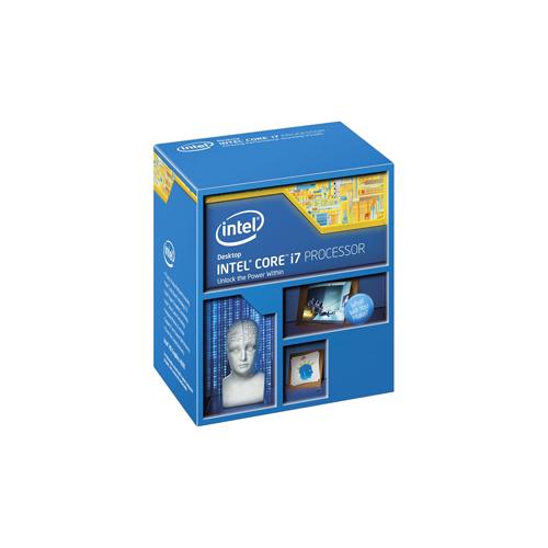Processador Intel Core i7 4ª Geração 4790k - Velocidade 4 GHz, 4 núcleos, Cache 8MB, Turbo Boost 2.0, PCI Express 3.0 *