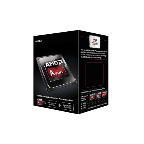 Processador AMD Quad Core A10 7850K - 3.7 GHz, Cache 2 MB, TDP  95W.