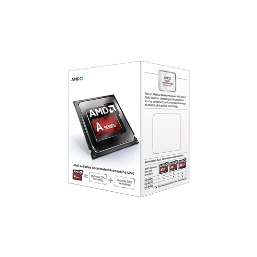 Processador AMD A4 6300 Dual Core - Cache 1 MB, Max Turbo 3.9GHz