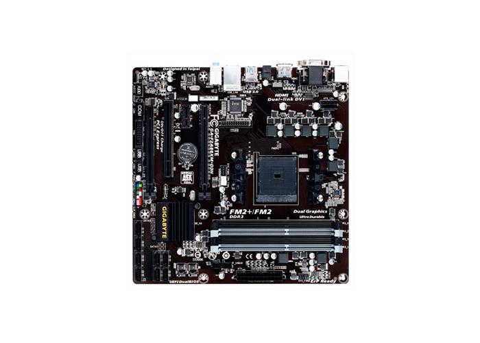 Placa Mãe AMD Gigabyte FM2 GA-F2A88X-D3H - DDR3, Conexões DVI - HDMI, Dual Channel, Frequência até 2.400MHz, PCI Express 16x (v2.0)