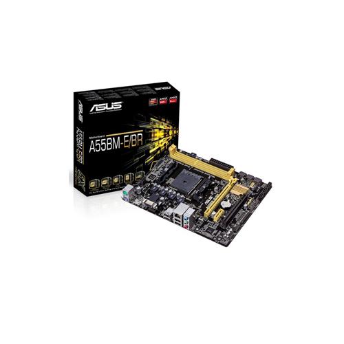 Placa Mãe Asus A55BM-E/BR - DDR3, HDMI, Frequência até 2.133MHz,  PCIe 16x (2.0)