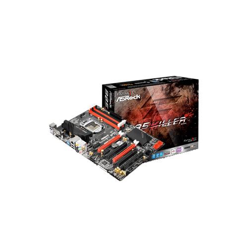 Placa Mãe ASRock Fatal1ty B85 Killer - DDR3, Frequência até 1.600MHz, Dual Channel, PCI Express 3.0 (x16)