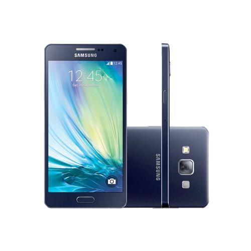 Celular Samsung Galaxy A5 GS-A500- 16GB, 4G, Duos, Android 4.4, Câmera de 13 MP, Vídeo em Full HD, Selfie Panorâmica, Quad Core 1.2 GHz - Desbloqueado ANATEL