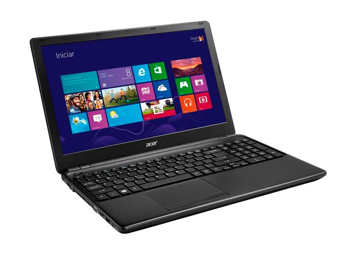 Notebook Acer Aspire E5 - Intel Core i5 , 4GB de Memória, HD de 500GB, Leitor de Cartões, HDMI, Tela LED de 15.6