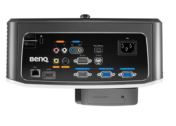 Projetor Multimídia BenQ MX852UST - DLP, Contraste de 10.000:1, 3000 Lumens, Lâmpada com até 7.000 horas, Suporte de parede *