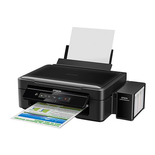 Impressora Multifuncional Epson L365 - Jato de Tinta, Wi-Fi, Impressora, Copiadora, Scanner, Resolução até 5760 x 1440 dpi