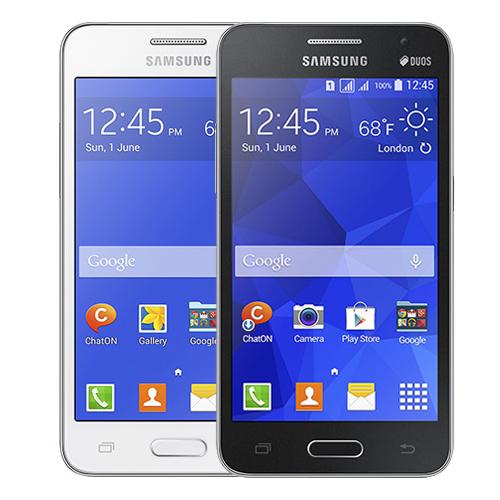 """Celular Samsung Galaxy Core 2 Duo - 4GB, Processador Quad Core 1.2 GHZ, 3G, Duos, Tela de 4.5""""  - Desbloqueado ANATEL"""