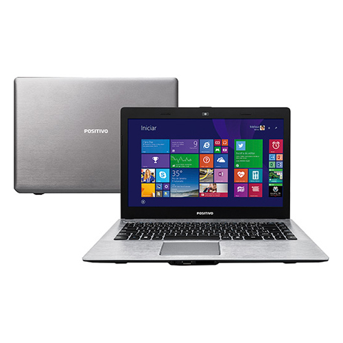 Notebook Positivo XC7660 -ULTRAFINO  Intel Core i3, Memória de 4GB, HD 1TB, Tela LED de 14'' (seminovo)