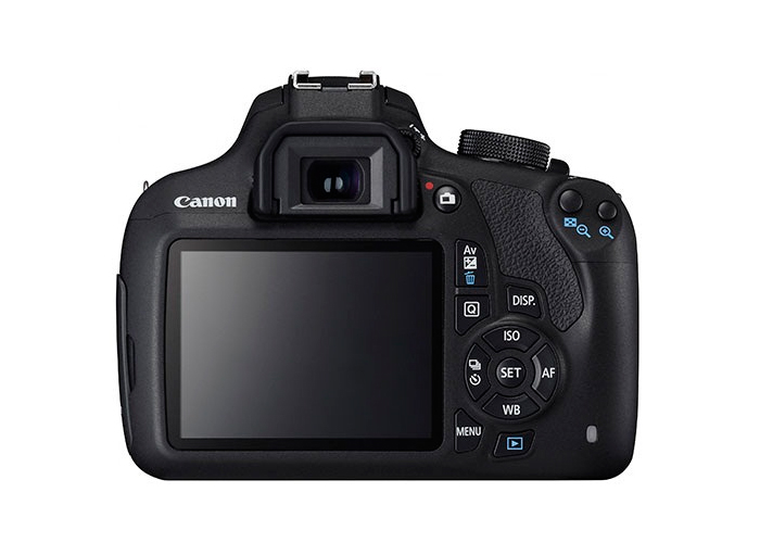 "Câmera Digital Canon EOS Rebel T5 + Lente 18-55mm - 18MP, Sensor CMOS, Vídeo Full HD, DIGIC 4, HDMI, Tela de 3"" *"