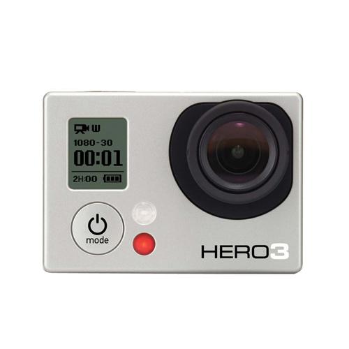 Câmera Filmadora GoPro Hero 3 White Edition - Resolução 1080p30, Prova d'água até 40m, 5MP, Wi-Fi