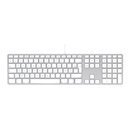 Teclado Apple com Númerico (MB110) *