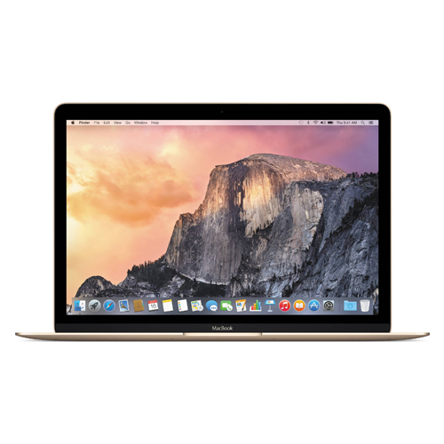Notebook Apple MacBook MK4M2 com tela Retina -  Intel M Dual Core, Memória de 8GB, SSD 256 GB, USB 3.1, Câmera FaceTime,Tela de Retina 12
