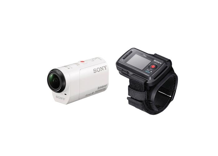Filmadora Sony Action HDR-AZ1VR - Sensor CMOS 1/2.3, 11.9MP, Prova d'água, Mini controle remoto *