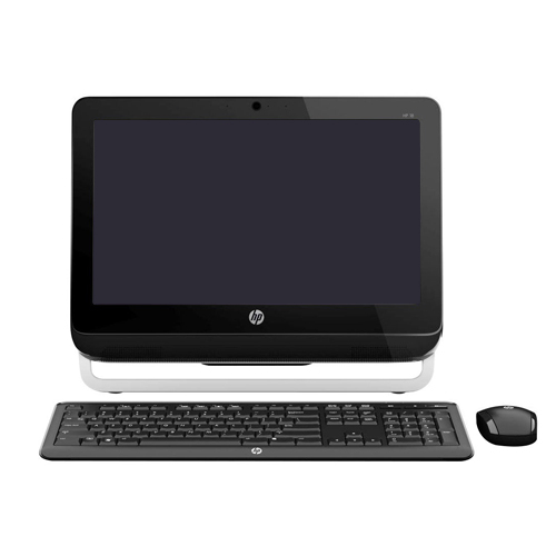 Computador ALL IN ONE HP - Processador Dual Core, Memória de 8GB, HD 500GB, LED 18.5