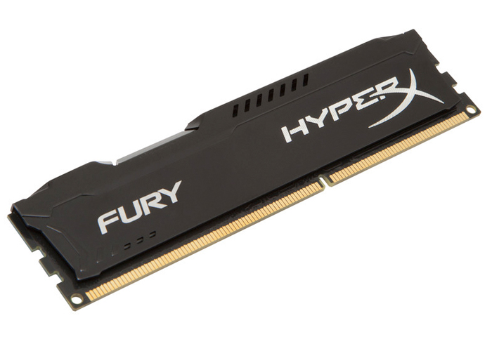 Memória DDR3 Gamer Kingston HyperX FURY - 4GB, 1600MHz *