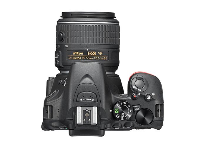 Câmera Digital Nikon SLR D5500 + Lente 18-55mm - 24.2MP, Sensor CMOS DX, Vídeo Full HD, EXPEED 4, ISO 100-25.600, 5 QPS, Tela Rotativa 3.2
