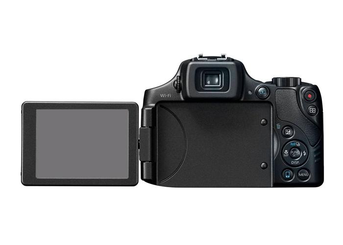 Camera Canon Power Shot SX60HS - 16MP, Sensor CMOS, DIGIC 4, Vídeo Full HD, Zoom Óptico 65x, Wifi, Tela Rotativa 3