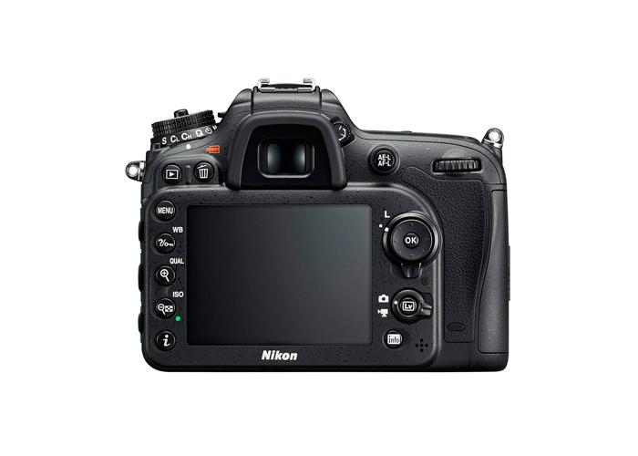 Camera Digital Nikon SLR D7200 (Somente corpo) - 24.1MP, Sensor CMOS DX, EXPEED 4,  ISO 100-25.600, 6 QPS, Wifi, Tela de 3.2
