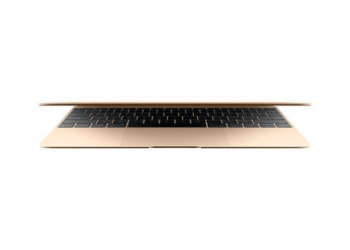 Notebook Apple MacBook Gold - Intel Core M, Memória de 8GB, SSD 512 GB, USB 3.1, Câmera FaceTime, Tela de Retina 12