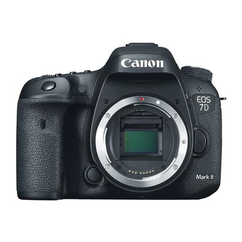 Câmera Digital Canon EOS 7D Mark II (Somente corpo) - 20,2MP, Sensor CMOS, DIGIC 6 Duplo, Vídeos Full HD, 10 FPS, ISO até 16000, HDMI, Tela de 3
