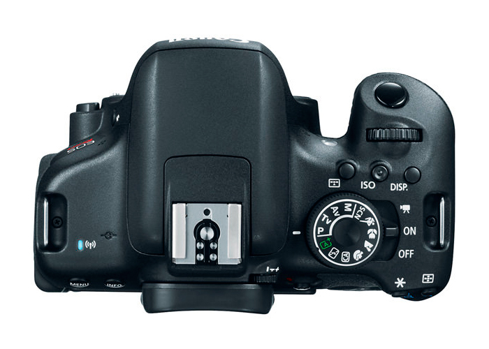 Câmera Digital Canon EOS Rebel T6i  (Somente corpo) - 24.2MP, Sensor CMOS, Vídeo Full HD, DIGIC 6+, 5 FPS, Touchscreen, Tela 3