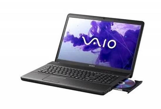 Notebook Sony EG33 - Intel Core i3, Memória de 4GB, HD 500B, Gravador de DVD, Webcam, Tela LED 14 (seminovo)