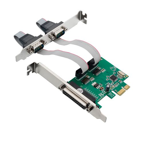 Placa Pci Express Multilaser 2 Serial + 1 Paralela Ga128 - 2,5 Gbps *