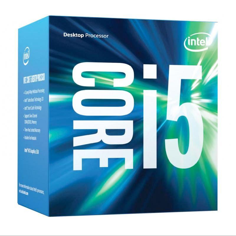 Processador Intel Core i5-6600 LGA 1151 - 3.3GHz, 6MB de cache, HD Graphics 530, Skylake 6ª Geração *