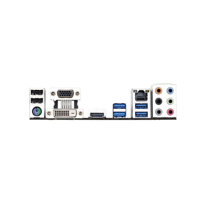 Placa Mãe Gigabyte Gamer GA-B150M-D3H p/ Intel LGA 1151 - Crossfire, DDR3, USB 3.0, Chipset B150, mATX *