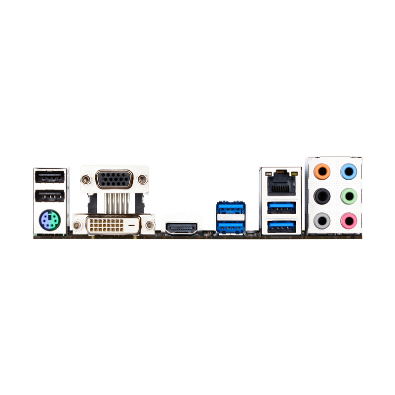Placa Mãe Gigabyte Gamer GA-H170M-D3H p/ Intel LGA 1151 - Crossfire, Raid, DDR3, USB 3.0, Chipset H170, mATX