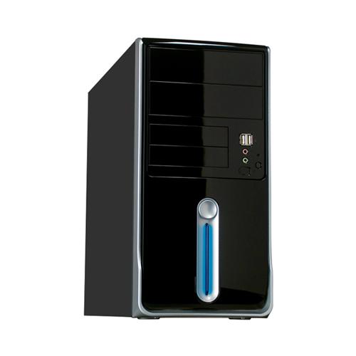 Computador Quad Core AMD - Processador Quad Core, 4GB de Memória, HD de 500GB, Gabinete ATX + Monitor LED de 18.5