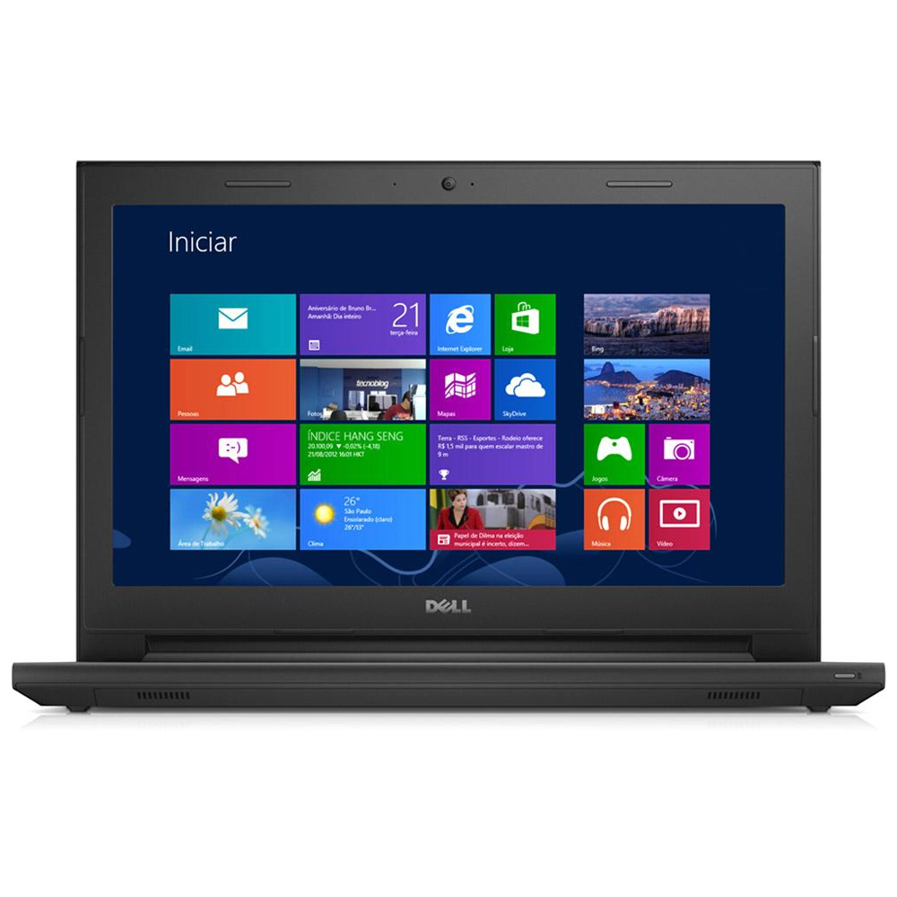 Notebook Dell Inspiron I14-3442 - Intel Core i5, 4GB de Memória, HD de 500GB, Windows 10, Tela LED de 14