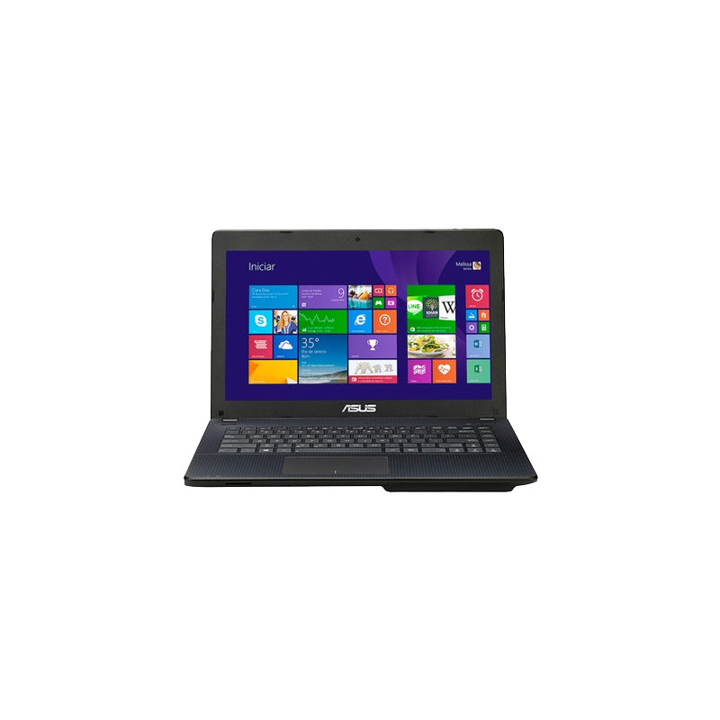 Notebook Asus X451- Intel Dual Core, 2GB de Memória, HD de 500GB, HDMI, USB 3.0, Windows 8, Tela LED de 14