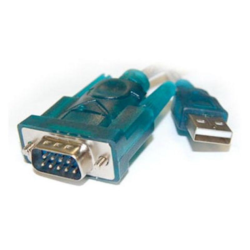 Cabo Adaptador/Conversor USB para Serial (RS232)