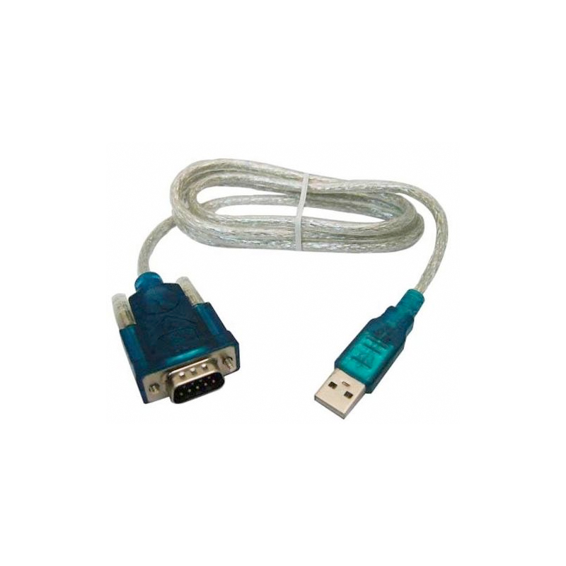 Cabo Adaptador/Conversor USB para Serial (RS232) *