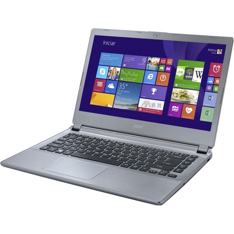 "Notebook Acer Aspire V5-472-6_BR826 Ultrabook - Intel Core i3, 8GB de Memória, HD de 500GB, Áudio Dolby Home Theater V4, Design ultra fino, Windows 8, Tela LED de 14"" (showroom)"