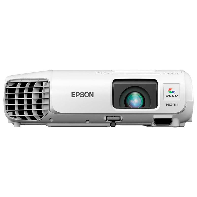 Projetor Epson PowerLite X29 - 3LCD, XGA, 3000 Lúmens, Contraste 10.000:1, Wireless Ready, HDMI, USB, Alto falantes incorporados, E-Torl *