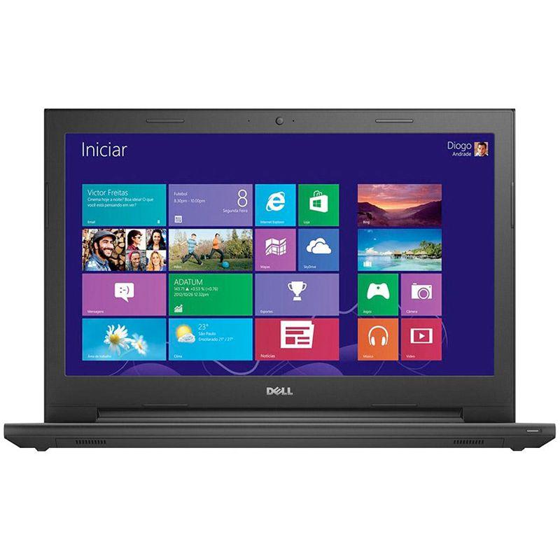 Notebook DELL Inspiron I15-3543 - Intel Core i3, 4GB de Memória, HD 1TB, HDMI, Teclado numérico, Tela LED de 15.6 (showroom)
