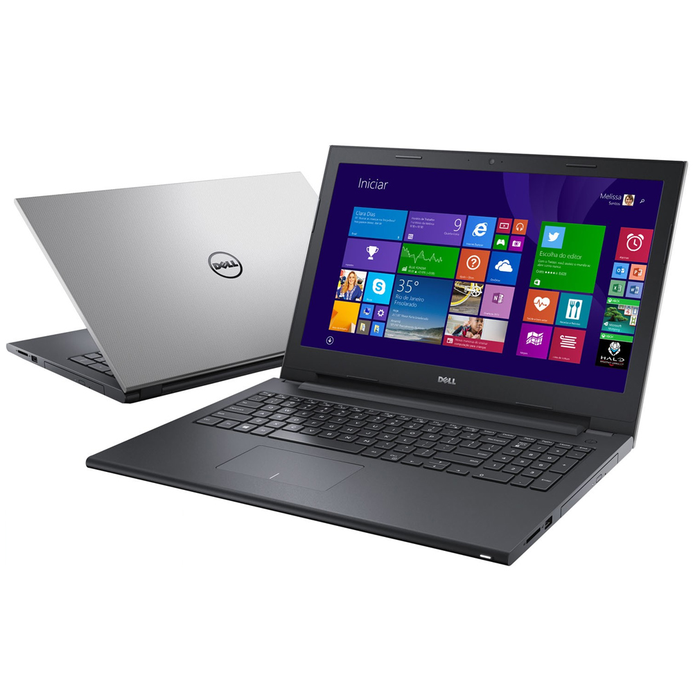 Notebook DELL Inspiron I15-3543 - Intel Core i3, 4GB de Memória, HD 1TB, HDMI, Teclado numérico, Tela LED de 15.6 (showroom)