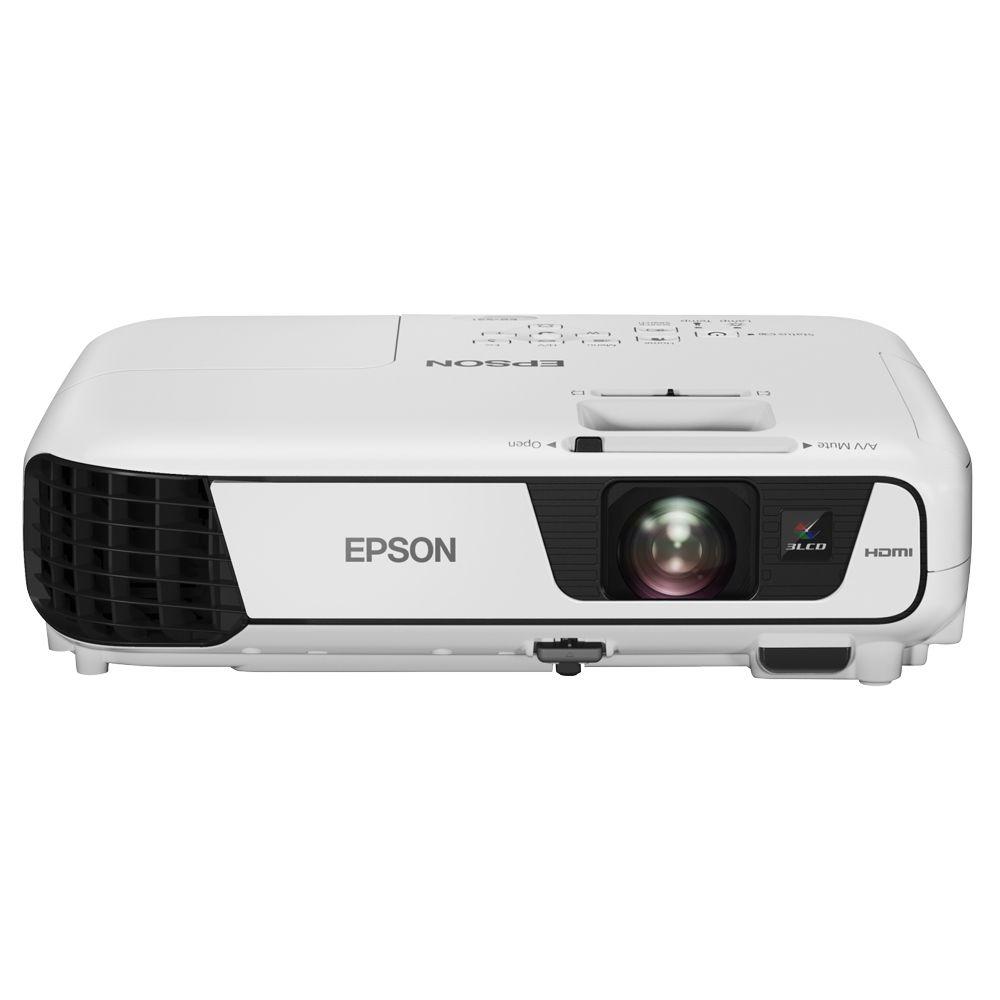 Projetor Epson PowerLite EB-X36 - 3LCD, 3600 Lúmens, Contraste 15.000:1, Wireless, HDMI, USB, Alto Falantes incorporados *  - Beta Informática