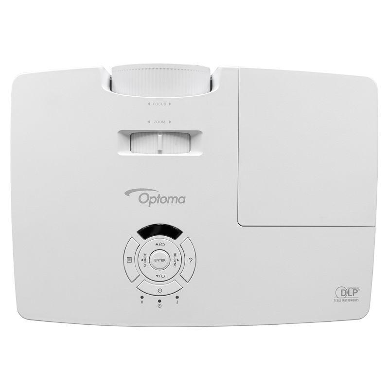 Projetor Optoma BR333 - Full 3D, 3200 Lúmens, Contraste de 20.000:1, Wireless Ready, HDMI 1.4a, Zoom Óptico, até 10.000 horas
