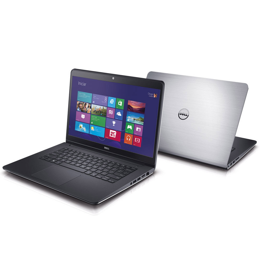 Notebook DELL Inspiron 14L-5447 - Intel Core i7  com 10GB de Memória, HD 1TB, Placa de Vídeo Radeon de 2GB, Tela LED de 14