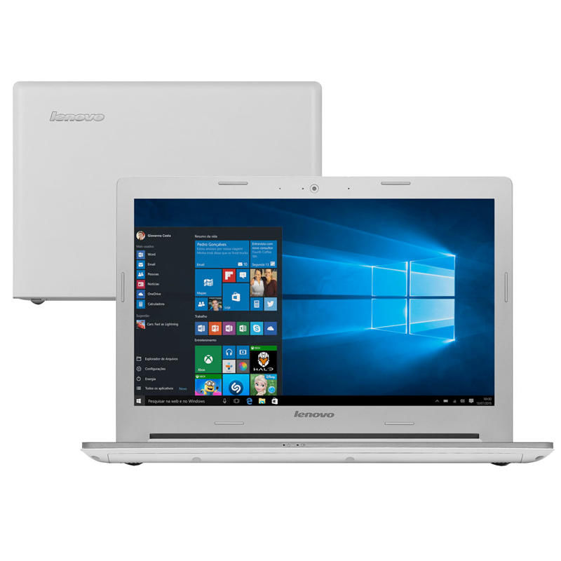 Notebook Lenovo Z40-70 - Intel Core i7, 16GB de Memória, HD de 1TB, Placa de Vídeo GeForce 2GB, Bluetooth, Tela LED Full HD de 14