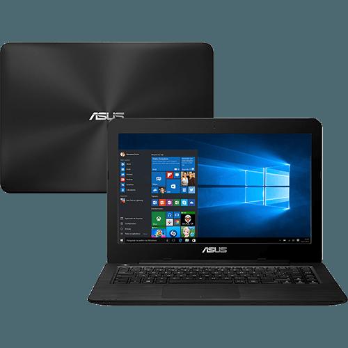 "Notebook Asus Z550m - Intel Quad Core, 4GB de Memória, HD de 500GB, Bluetooth, Tela LED de 15.6"" e Windows 10 showroom"