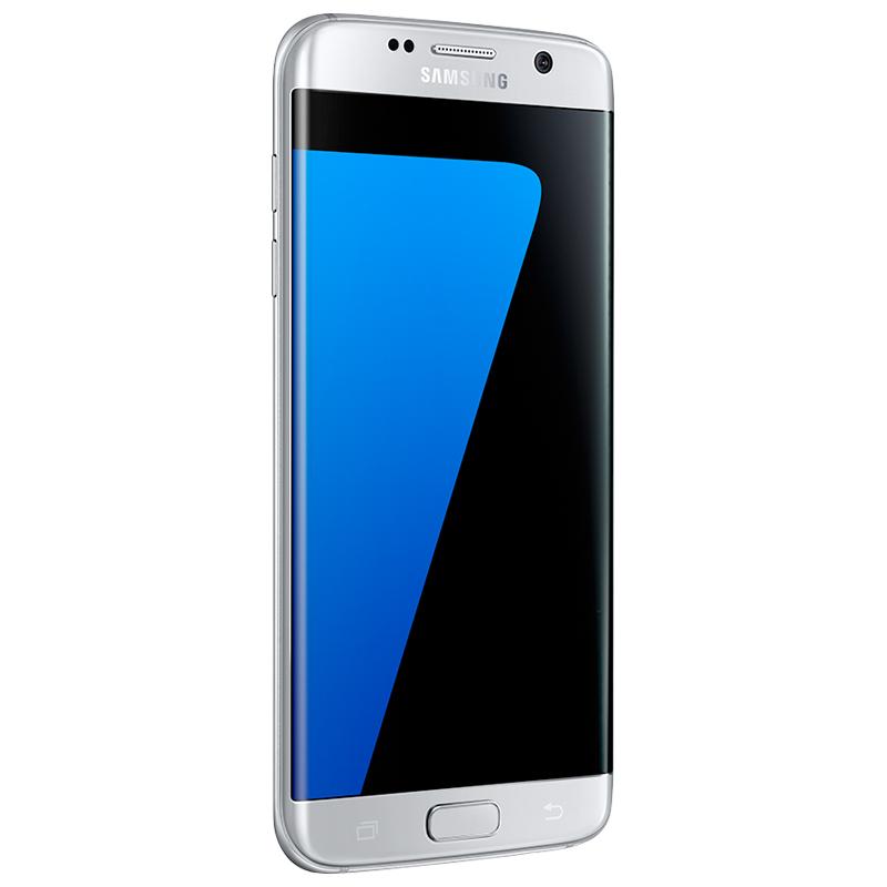 """Smartphone Samsung Galaxy S7 Edge com 32GB, Câmera Dual Pixel, Vídeos em 4K, Processador Octa-core, 4G, Resistênte à água e poeira, NFC, Tela Dual Edge Super AMOLED de 5.5"""" - SM-G935, Titânio Pratead*"""