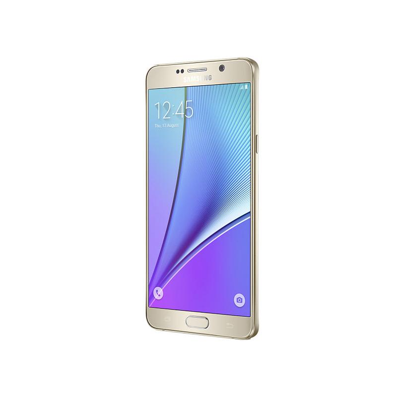 Smartphone Samsung Galaxy Note 5 com 32GB, Vídeos em 4K, S-Pen, Processador Octa-core, 4G, Câmera CMOS de 16GB, Tela Super AMOLED de 5.7