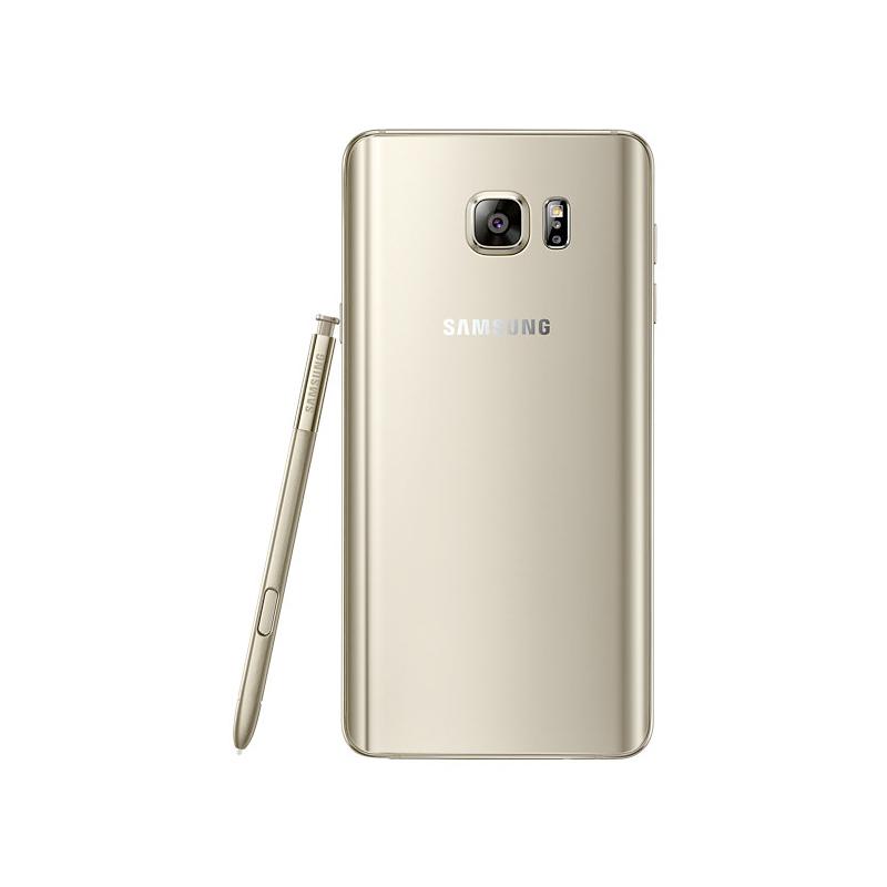 """Smartphone Samsung Galaxy Note 5 com 32GB, Vídeos em 4K, S-Pen, Processador Octa-core, 4G, Câmera CMOS de 16GB, Tela Super AMOLED de 5.7"""" - N920, Dourado"""