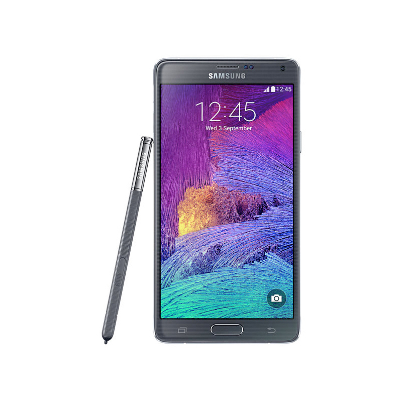 Smartphone Samsung Galaxy Note 4 com 32GB, Vídeos em 4K, S-Pen, Processador Octa-core, 4G, Câmera CMOS de 16GB, Tela Super AMOLED de 5.7